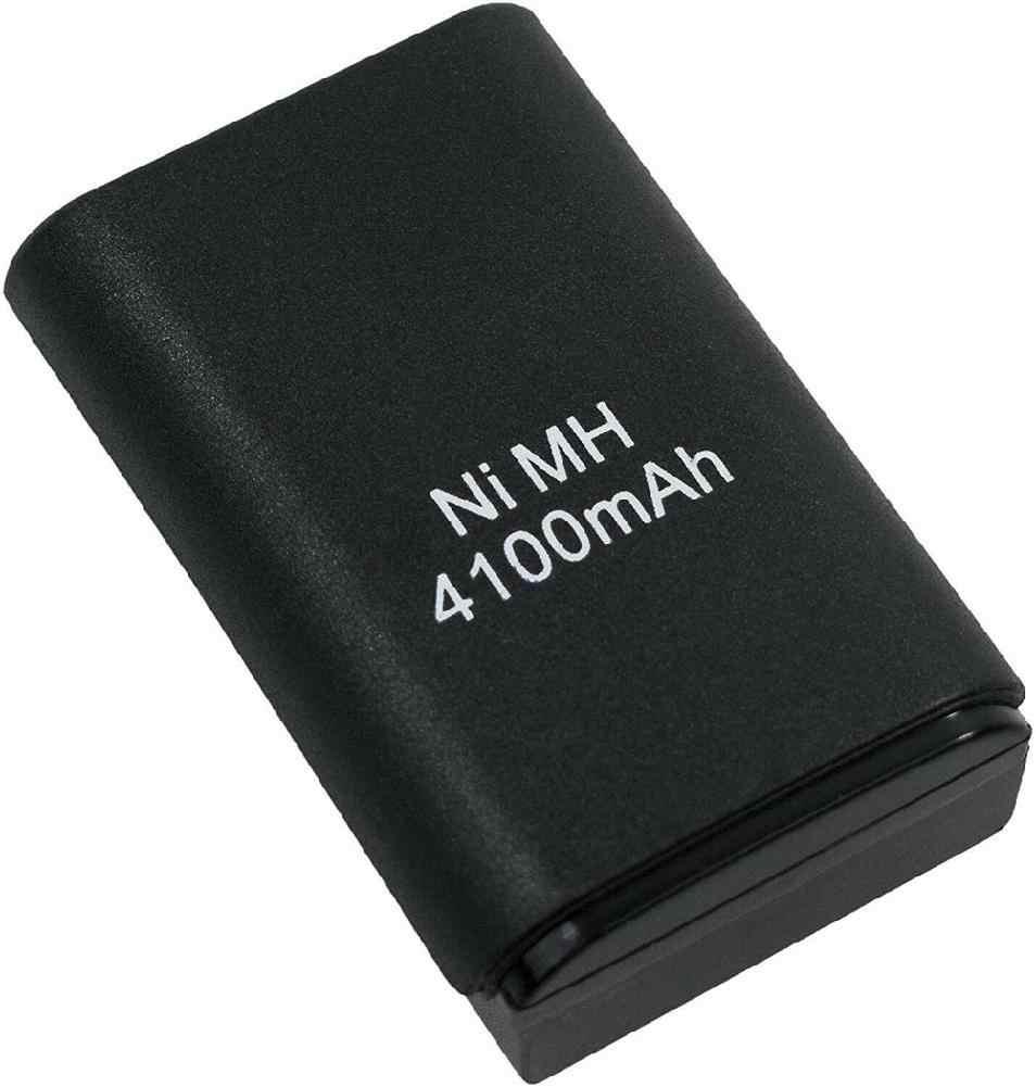Yüksek kalite 2 In 1 pil paketi USB şarj ara kablosu ve şarj edilebilir pil Xbox 360 kablosuz denetleyici