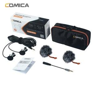 Image 5 - Конденсаторный микрофон CoMica, для камер Sony, Canon, Nikon, DSLR, Gopro Studio, 2,5/4,5/6,0 м
