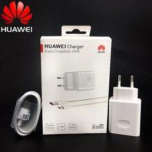 Huawei P40 סופר מטען 40W מקורי 10V/4A תשלום מתאם usb כבל Huawei p20 p30 פרו Mate 30x20 פרו כבוד נובה 5 6 7 קסם 2