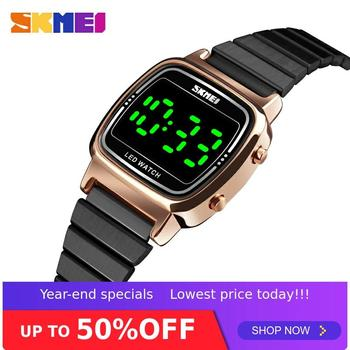 SKMEI Fashion Women Watch Vogue Top brands Luxury 3Bar Waterproof Ladies Watches Small Dial Digital Watch Relogio Feminino 1543
