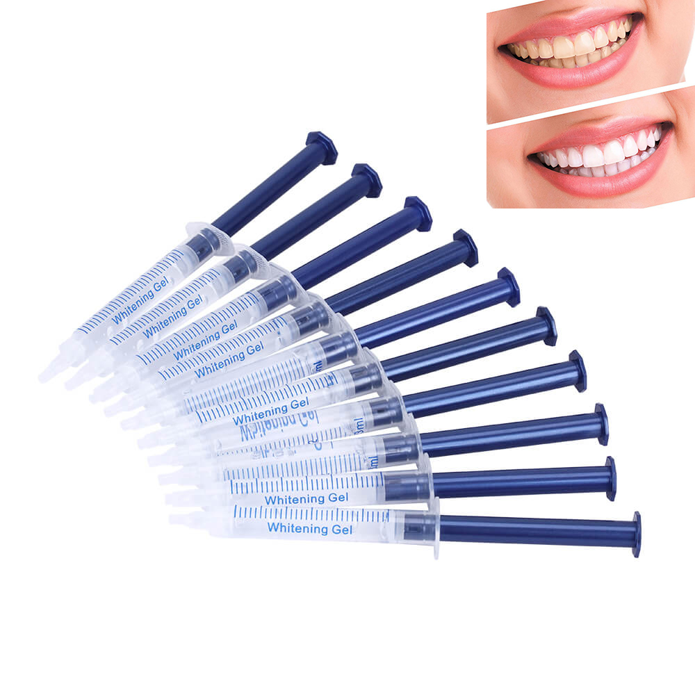 Teeth Whitening 44% Peroxide Dental Bleaching System Oral Gel Kit Tooth Whitener Gel White Teeth Gel 15pcs/10pcs/5pcs/1pc