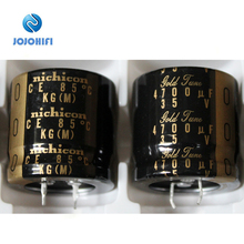 Nichicon KG TYPE II Gold Tune 4700UF 35V 30*30mm Pitch 10mm Audio Electrolytic Capacitor Capacitors конденсатор nichicon kg super through 16v 4700uf