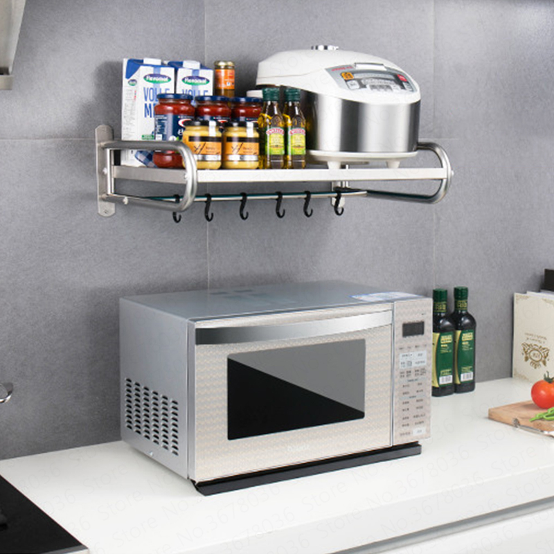 1x stainless steel thicken microwave