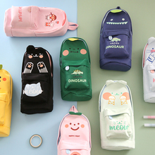 Pencil Case Cases Trousse Kawaii Cat Stationery Estuche Stationary Astuccio Pen bag Material Escolar Estojo Cute School Supplies