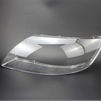 Para audi q7 2010-2015 lente do carro abajur farol de plástico transparente habitação farol proteção plástico transparente escudo