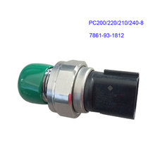 Komatsu Excavator Accessories PC200 / 220/210 / 240-8 Hydraulic Pump Pressure Switch High Ppressure Sensor Inductor 7861-93-1812 hydraulic pump for komatsu pc28uu excavator