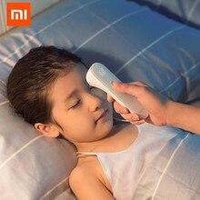 Termômetro xiaomi mijia ihealth, termômetro sem contato com led digital, infravermelho, medidor de corpo para bebês, crianças e adultos