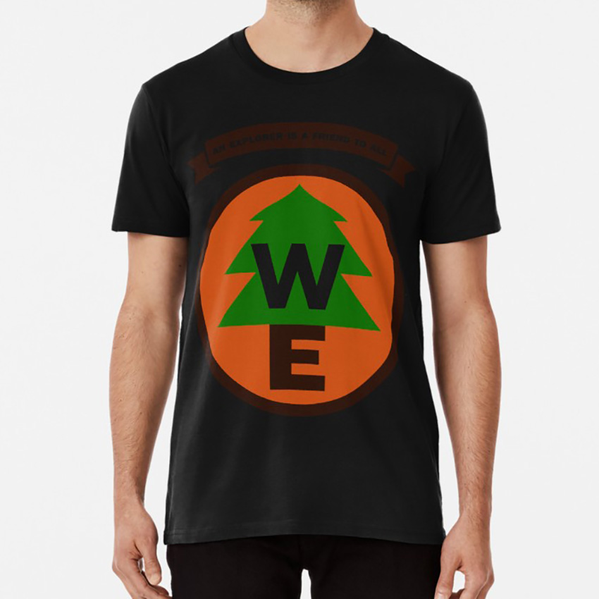 <font><b>Wilderness</b></font> Explorer <font><b>T</b></font> <font><b>Shirt</b></font> Up Pixar <font><b>Wilderness</b></font> Explorer Russell Movie Tree image