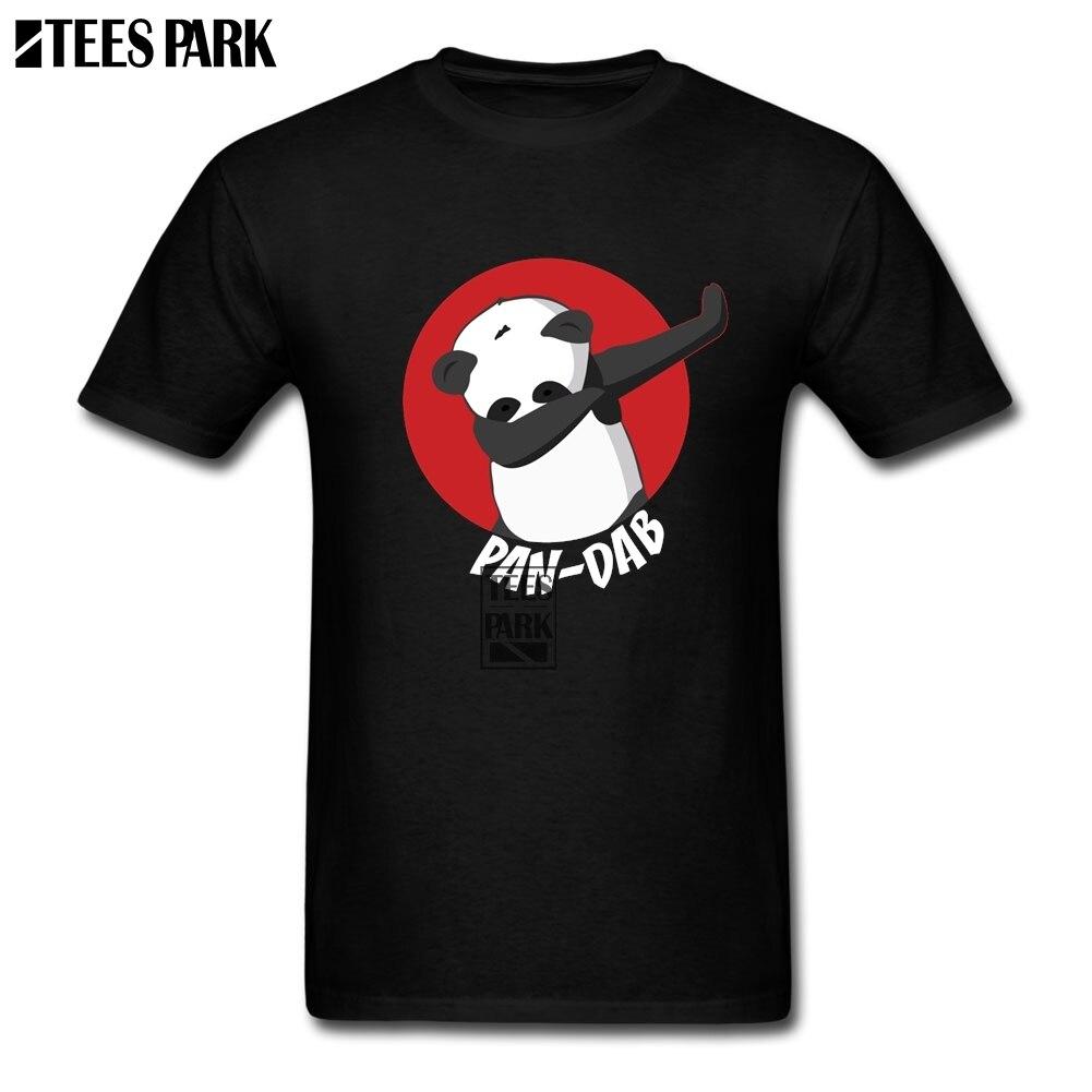 Men T Shirt Panda Dab Cool T Shirts for Men Men Round Neck Short Sleeve T Shirt 2019 New Teenage Rainbow Casual Shirts