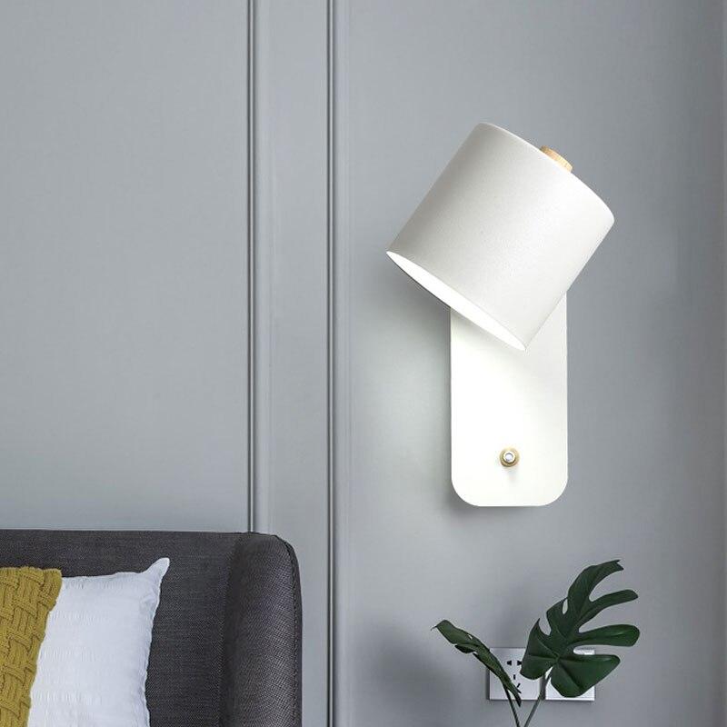 Купить современный светодиодный настенный светильник в скандинавском