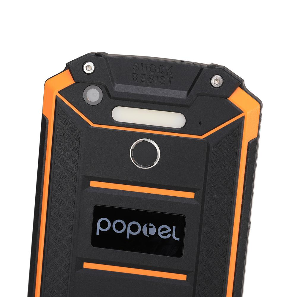 IP68 waterproof rugged cellphones power bank phone 9000 mah 4G LTE smart android phone Poptel p9000 max 4G/64G NFC mobile phone - 6