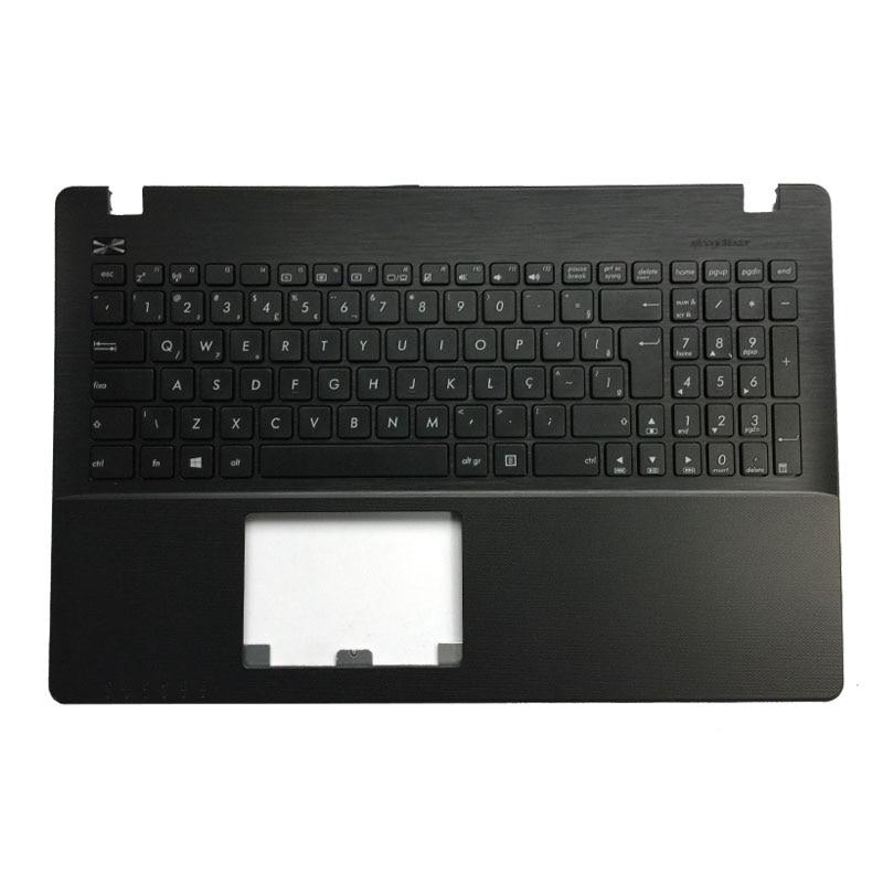 New BR Laptop Keyboard For ASUS X550 K550V X550C X550VC A550L Y581C F550 R510L X550J X550V Brazil Shell Palmrest Cover
