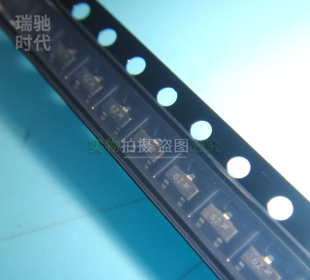 Xinyuan 50 шт./лот MMBF170LT1G SOT23 MMBF170 SOT Power MOSFET 500 мА, 60 в новый и оригинальный IC