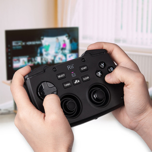 Image 5 - Rii RK707 Game Controller2.4GHz Wireless Keyboard with 62 keys Mouse Combo w/ Touchpad for PS3 TV Box Smart TV