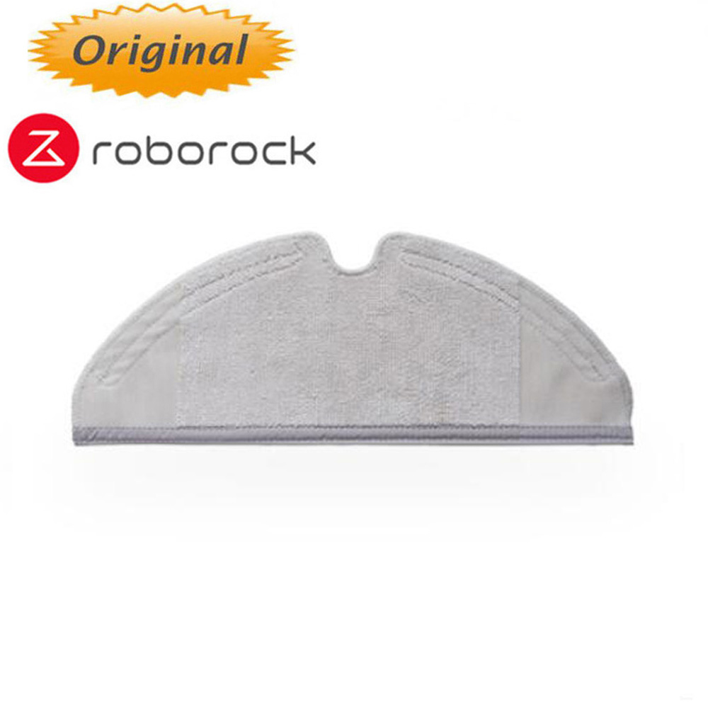 2PCS  Mopping Cloth Of Robotic Vacuum Cleaner Mop For Mijia 1/1s / Roborock Vacuum CleanerElement Component Original Parts Pack