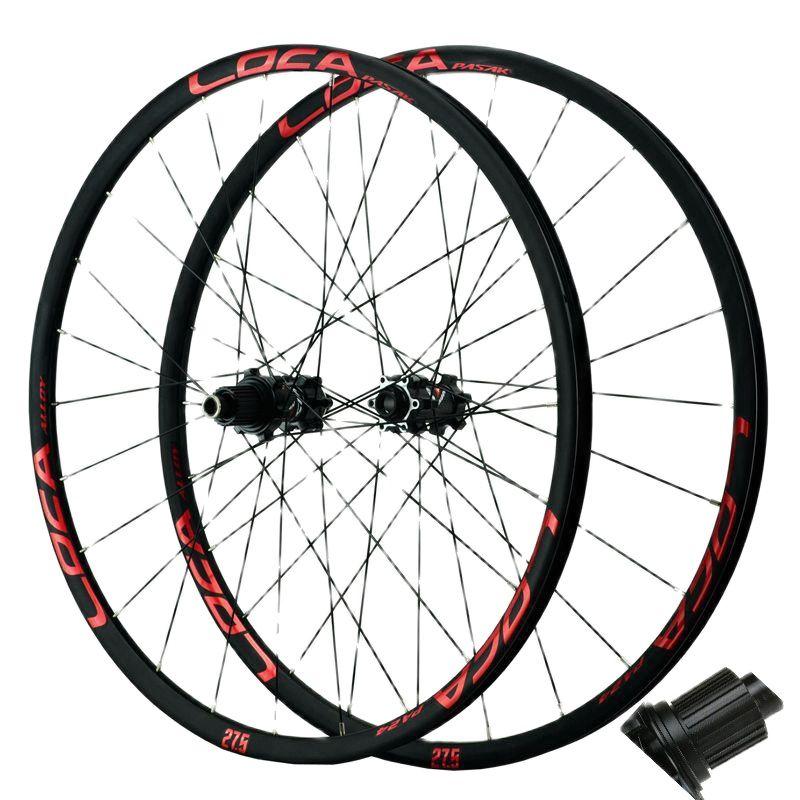 Mtb Micro Spline 12v Wheelset 24 Holes 6 Bolts Disc Brake Sealed Bearing MS 12S Road Bike 12 Speed F15X100 R12X142 Thru Axle