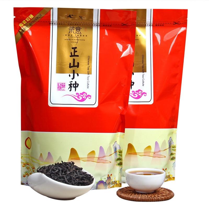 Chinese Zhengshanxiaozhong Zheng Shan Xiao Zhong Black Tea Lapsang Souchong 250g High Quality AAAAA Green Food