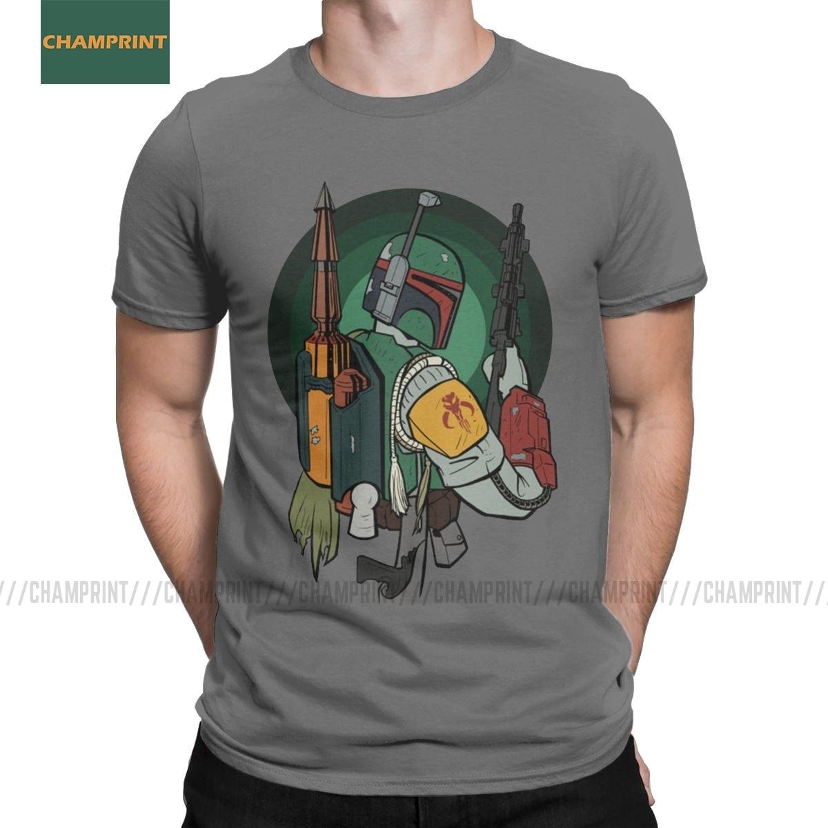 Star Wars Homme The Mandalorian Poster T-Shirt