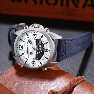 Image 5 - Dubbele Tijd Zone Zwemmen Mannen Sport Horloge Digitale Kalender Quartz horloges Waterdicht 50M Militaire Klok Relogio Masculino