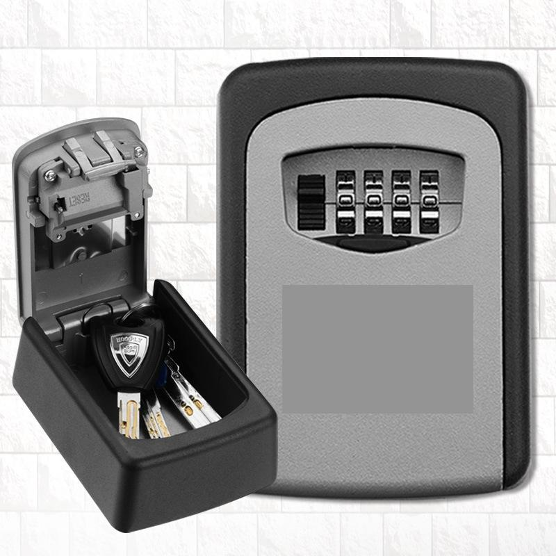 Metal Wall Mounted Password Key Box Storage Lock Keeper image