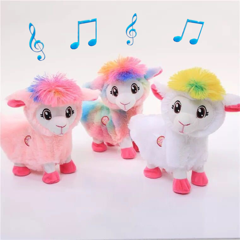 Plush Electric Baby Music Funny Toys Pets Alive Boppi Shakin's Llama Alpacas Booty Shakin Twerking Llama Dancing Musical