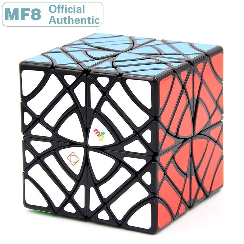 MF8 jumeaux Gemini biaisé Copter Cube magique papillon hexaèdre vitesse Puzzle jouets éducatifs édition limitée pour Collection
