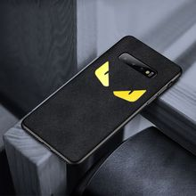 Free Shipping for Samsung s10plus luxury Turn fur Phone Case Galaxy s10 Anti-fall and anti-skid Business affairs case
