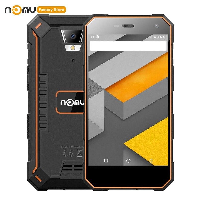 NOMU S10 PRO 4G Quad Core téléphone portable 5.0 pouces Android 7.0 MTK6737VWT 1.5GHz 3GB + 32GB 8.0MP caméra arrière 5000mAh téléphone portable