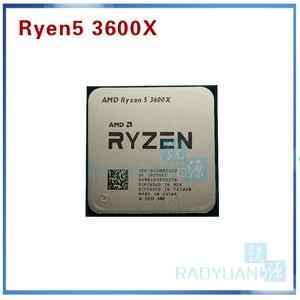 Image 1 - AMD Ryzen 5 3600X R5 3600X3.8 GHz Zes Core Twaalf Draad 7NM 95W L3 = 32M 100 000000022 CPU Processor Socket AM4