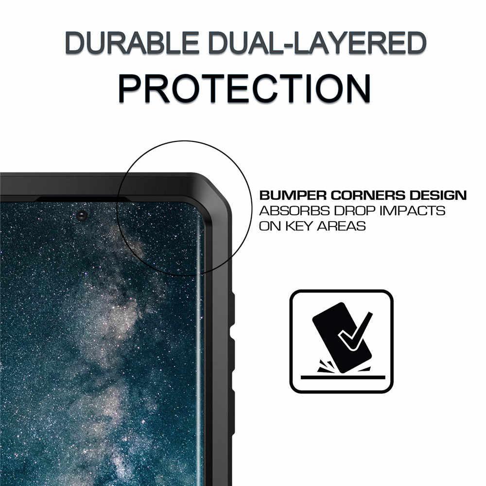 מלא מגן יוקרה אבדון מתכת מקרה עמיד הלם עבור Samsung S20 S20Plus S20ultra S8 S10 S10E S7 S10Plus S9 S9Plus Note8 note9