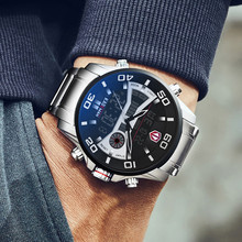 Topยี่ห้อLuxury KADEMAN Menนาฬิกาทหารกันน้ำLED Digital Sportนาฬิกานาฬิกาผู้ชายนาฬิกาข้อมือชายRelogio Masculino