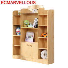 Boekenkast Home Decoracao Cabinet Meuble Mobilya Estanteria Para Libro Wodden Book Furniture Decoration Retro Bookshelf Case