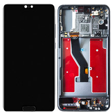 IPS LCD Für Huawei P20 LCD Mit Rahmen 5,8 Zoll Mit Fingerprint Bildschirm Für Huawei P20 LCD Display EML-AL00 L22 l09 L29