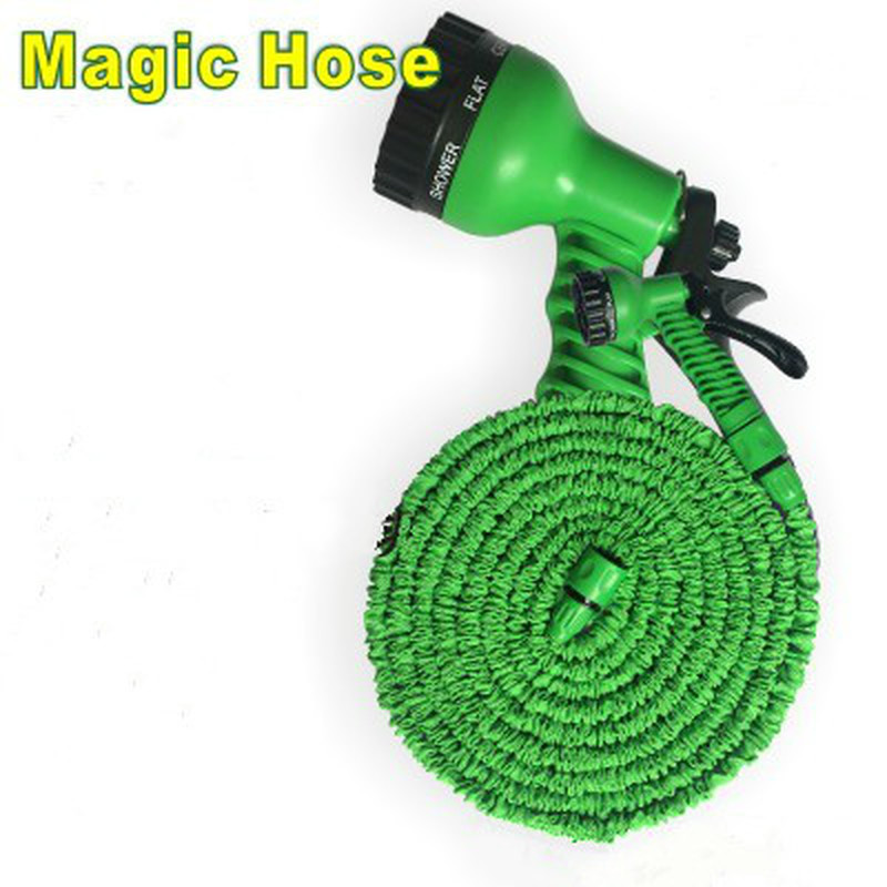 Garden Hose Expandable Magic Flexible Water Hose EU Hose Plastic Hoses Pipe With Spray Gun To Watering Car Wash Spray 25FT-250FT