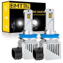 BMTxms luces del coche LED H7 12000LM H11 lámpara LED para bombillas de faro delantero de coche H4 H1 H8 H9 9005 9006 HB3 HB4 Turbo H7 bombillas LED 12V 24V