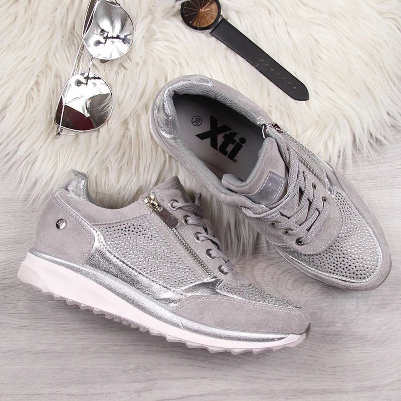 New Women Shoes Gold Sneakers Platform Trainers Women Shoes Casual Lace-Up Tenis Feminino Zapatos De Mujer Womens Sneakers 2020