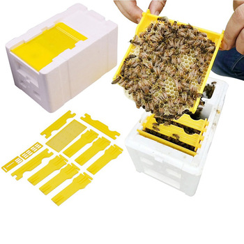 Narzędzie pszczelarskie zestaw ula królowa pszczelarstwo pole żniwa królowa pole zapylania pole pianki królowa rezerwy ula dostaw tanie i dobre opinie CN (pochodzenie) Harvest Bee Hive