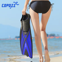 Scuba Snorkel Diving Swimming Fins Foot Fin Flippers Flexible Anti-slip Adult Profession Diving Fins Swimming Shoes Water Sports(China)
