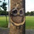 1 шт дерево Сова Особенности украшения Пасха открытый творческий Пасхальный реквизит 2021 Творческий Пасхи Сова садовая статуя F в наличии