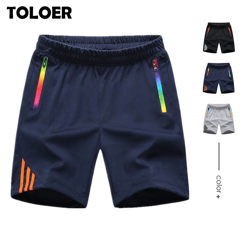 Breathable Striped Shorts Men Summer Jogger Sweatpants Running Beach Board Short Mens Casual  Quick dry Sport Gym Short Trousers