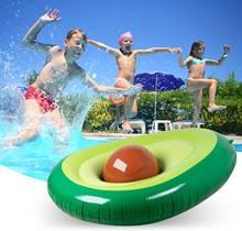 Надувные авокадо бассейн поплавок плавающая кровать летний плавательный