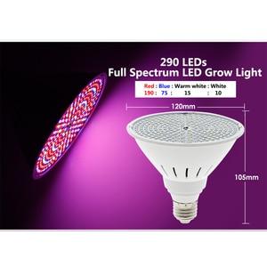 Image 4 - LED Grow Light Bulb Full Spectrum Lamp E27 LED Lights for Indoor Growing E27 Bulb Phytolamp for Plants Seedling Flower Grow Tent