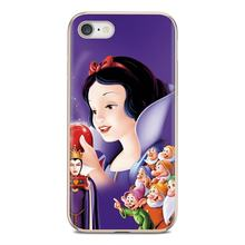 For Huawei Mate Honor 4C 5C 5X 6X 7 7A 7C 8 9 10 8C 8X 20 Lite Pro Online Silicone Phone Case Snow White Seven Dwarfs(China)