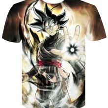 NEW dragon ball super t shirt goku costume Men's tshirt anim