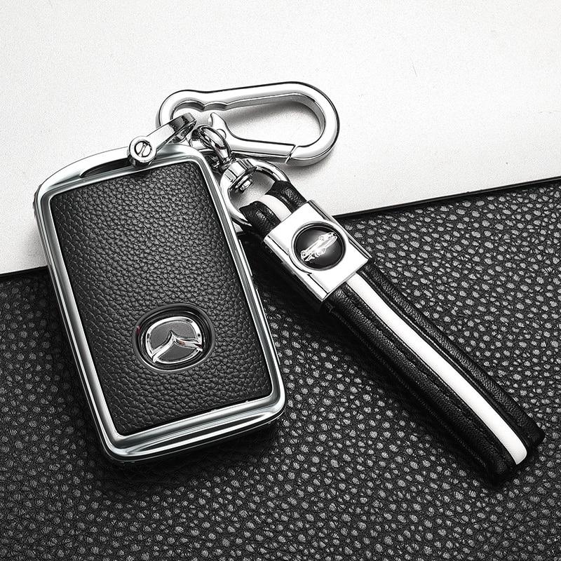 Мягкий ТПУ чехол для автомобильного ключа чехол для Mazda 3 Alexa CX4 CX5 CX8 2019 2020 аксессуары
