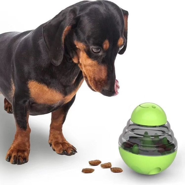 Interactive Dog Tumbler Ball for hours of  Entertainment