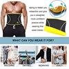 Sexywg body shaper slim waist trainer back support belt men neroprene sauna shapewear brace weight loss strap slimming sport top