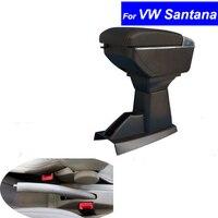Voor Volkswagen Vw Santana 2001 ~ 2011 Armsteun Lederen Auto Center Console Armsteun Doos Auto Armleuningen Met Usb