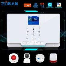 Zonan tuya умный беспроводной проводной комплект домашней защиты