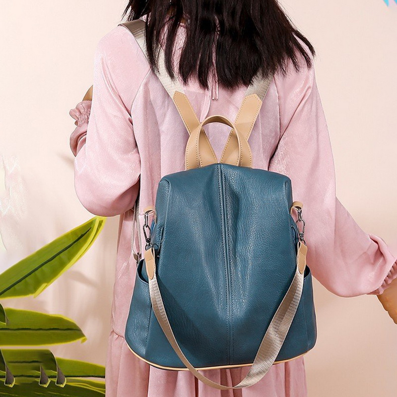 H907c3e54e67046bea5f608b1e6cd0870x - Fashion Women Waterproof Travel Backpack Anti-theft Oxford Backpack Female School Bags Bagpack For Girls Shoulder Bag